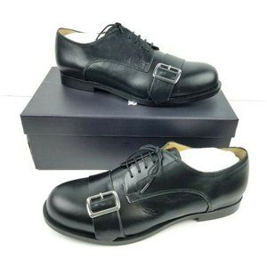 Jil Sander Navy Abeno Buckle Oxfords  NEW